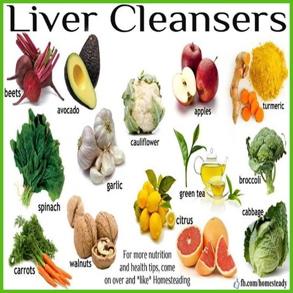 Diet for the liver