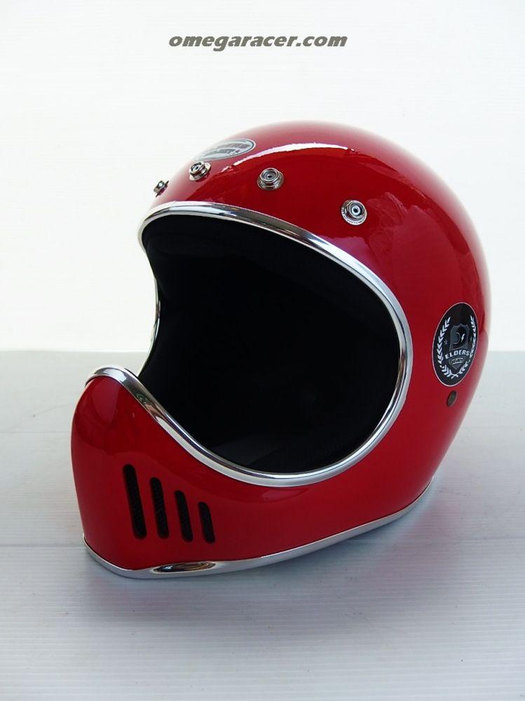 Elders Helmets Xbone Helmet Red Vintage Helmet Helmet Full Face Helmets