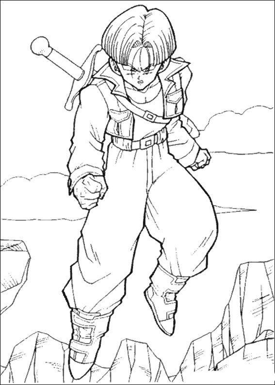 Dragon Ball Z Ausmalbilder. Malvorlagen Zeichnung druckbare nº 92 ...