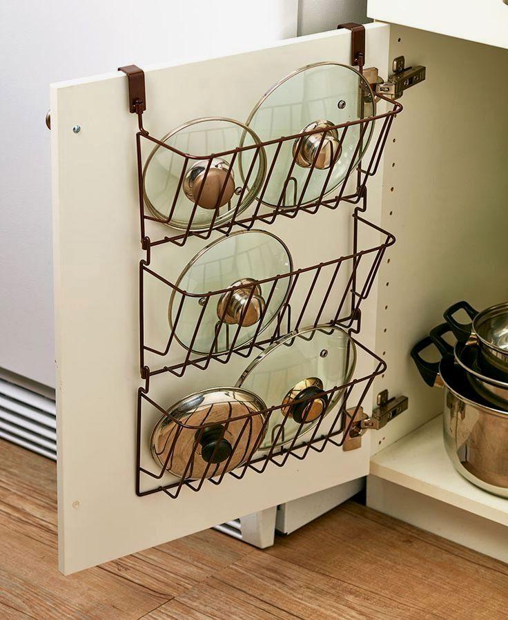 Pin on Pretty DIY Kitchen Organizer