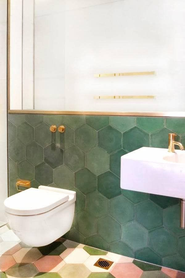 On-Trend Bathroom Makeover Ideas images