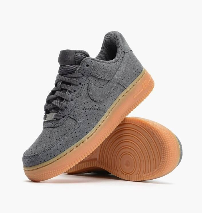 Nike Air Force Low Suede Gris R 341,91 Jayahs Style Pinterest