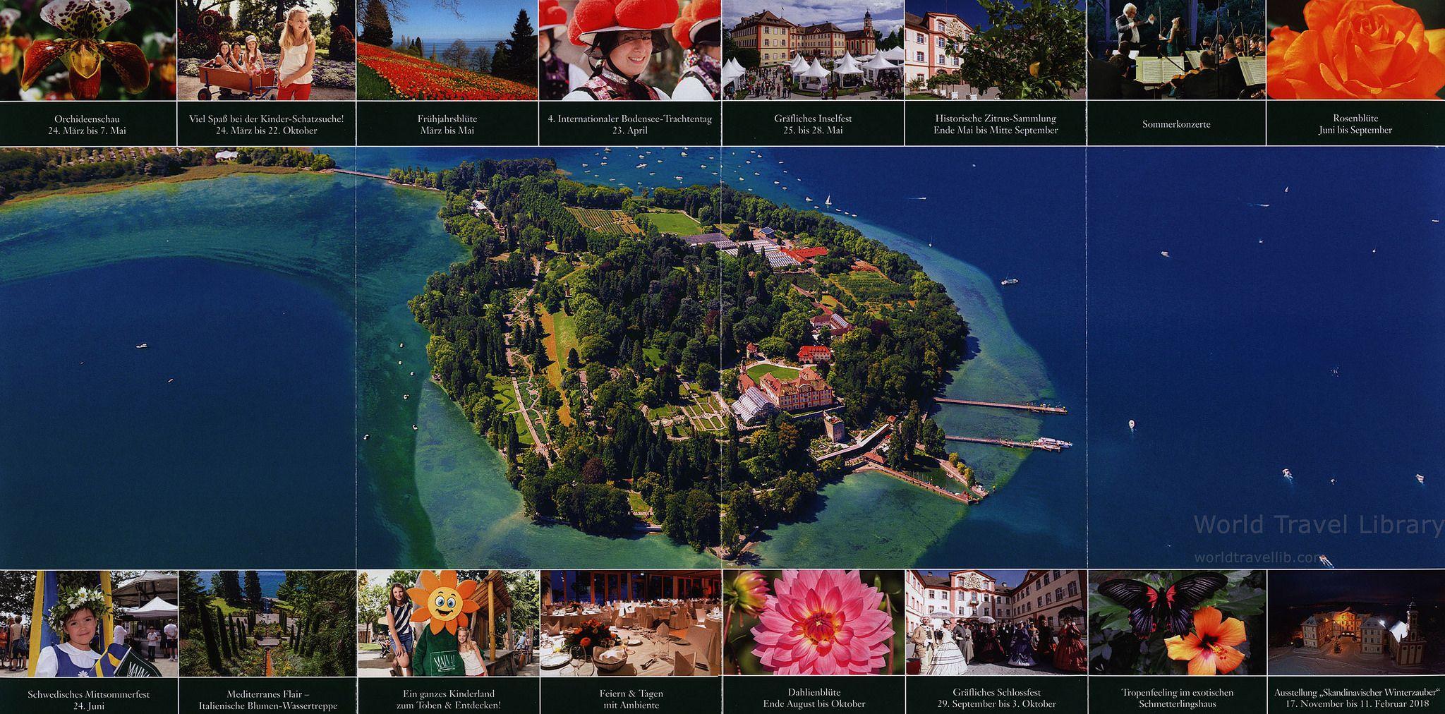Insel Mainau Zahlenspiel Und Farbenplus Auf Der Insel Mainau 2017 2 Bodensee Baden Wurttemberg Germany Wonders Of The World Travel Inspiration Beautiful Nature