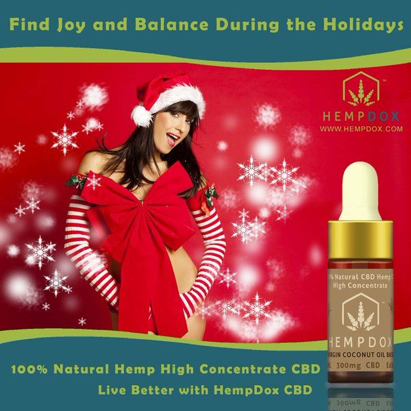 Find #Joy and Balance During the Holidays with #HempDox #CBD Shop from http://HempDox.com  #mood #depression