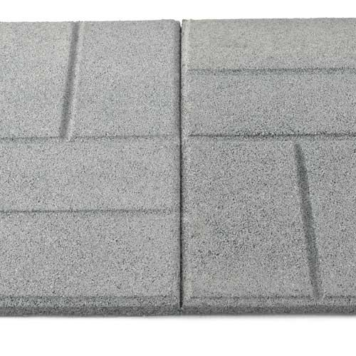 Rubber Paver Tiles Patio Tile