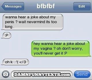 I get embarrassed at sex jokes