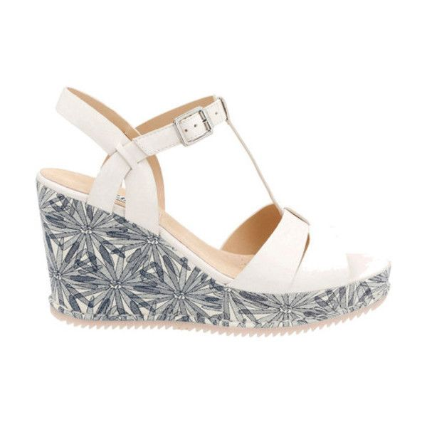 cd00684ef4d Women s Clarks Adesha River T Strap Wedge ( 66) ❤ liked on Polyvore  featuring shoes
