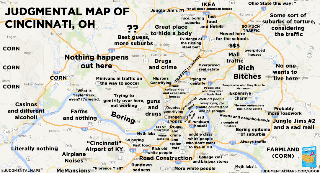 110 Judgmental Maps Ideas Map Funny Maps Map Of New York East bay should just be alameda county, and east bay should be another font size larger. judgmental maps ideas map funny maps