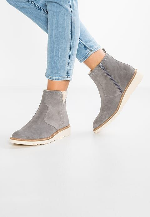new product a39ee 24779 KAJAL - Wedge Ankle Boots - gunmetal in 2019 | Winter boots ...