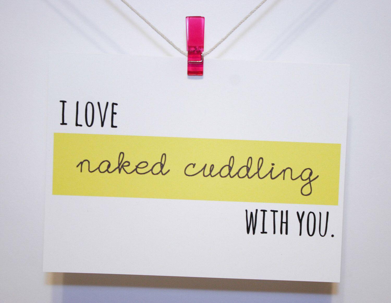 Naughty Sexy Funny Valentine Card Birthday Card Love Naked
