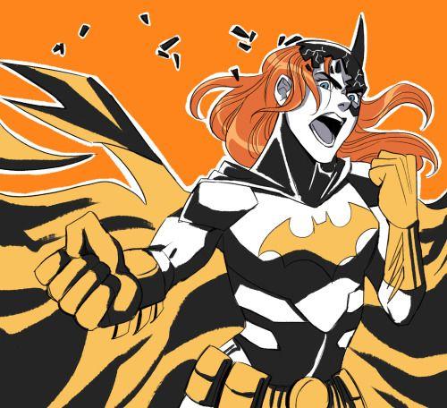 Batfamily Fight Club: Batgirl - http://inkydandy.tumblr.com/