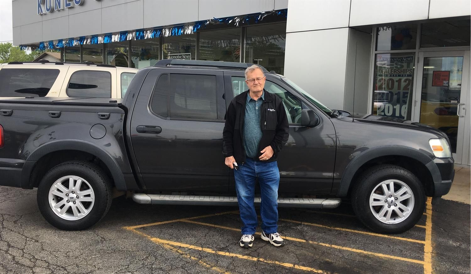 Dieter's new 2007 FORD EXPLORER SPORT TRAC