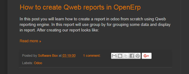 How To Create Qweb Reports In Openerp  Learn OdooOpenerp