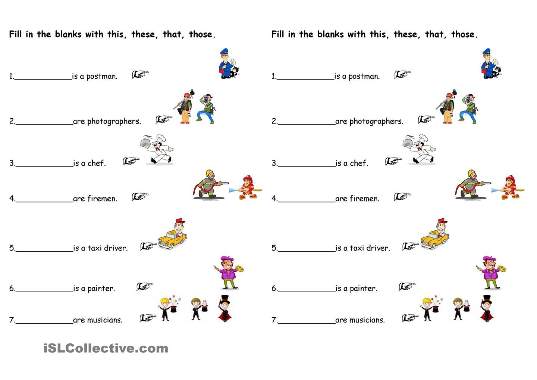 Demonstrative Pronouns Teaching
