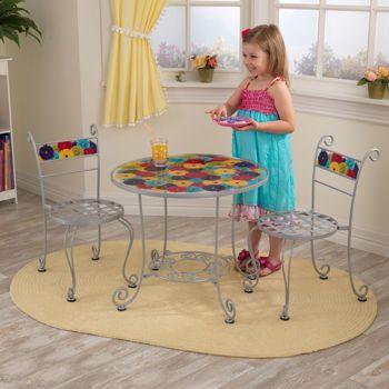 Costco Kidkraft Bistro Table Set Kids Table Chair Set 400 x 300