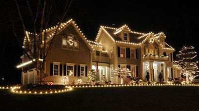 Soft White Holiday Lights