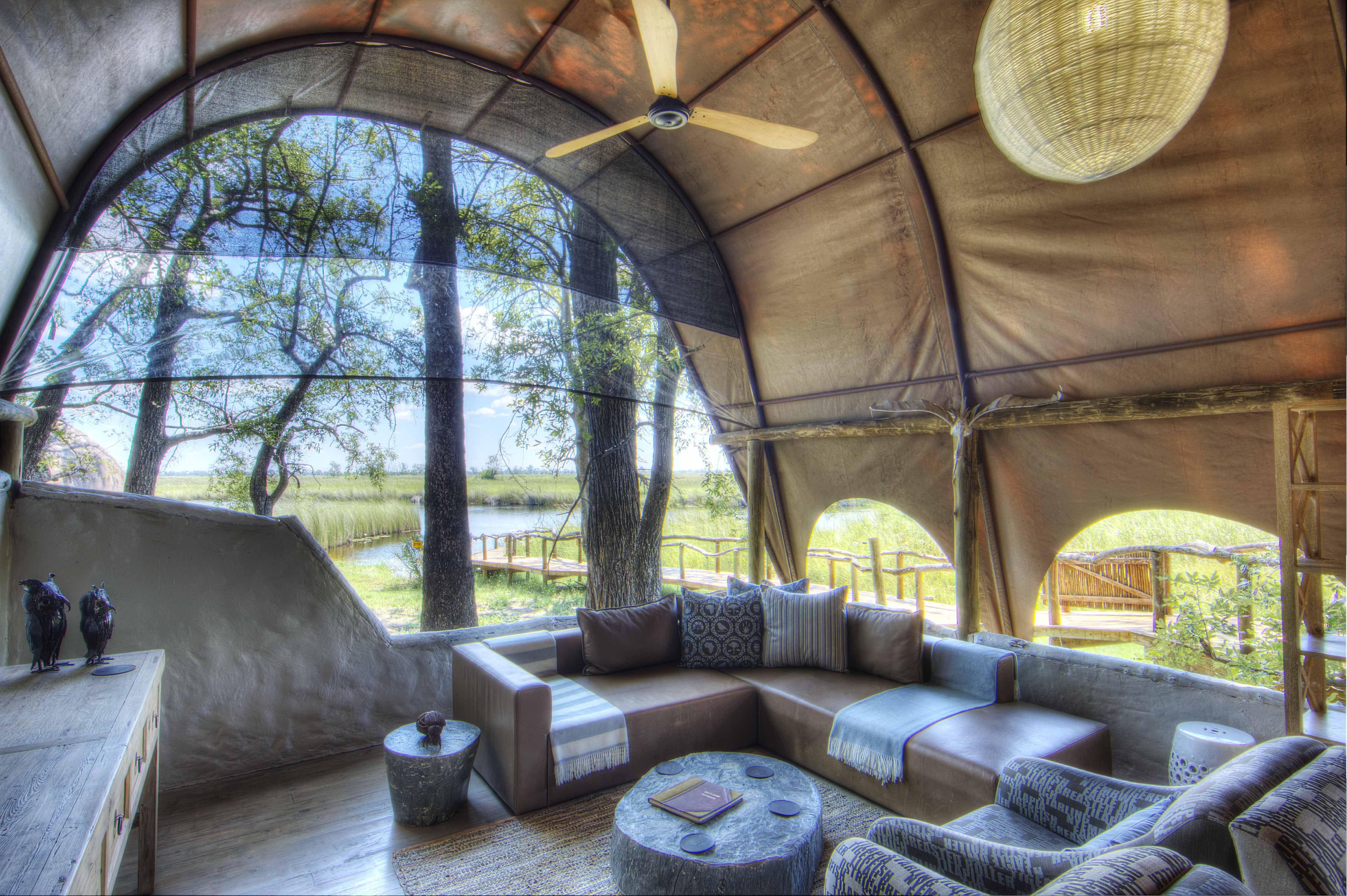 Okuti Moremi Game Reserve Botswana Safari Luxury