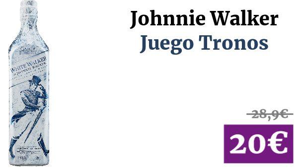 Johnnie Walker Juego Tronos #Alimentacion ✏ #vadegangas #Alcohol #Amazon #Whisky #JohnnieWalker