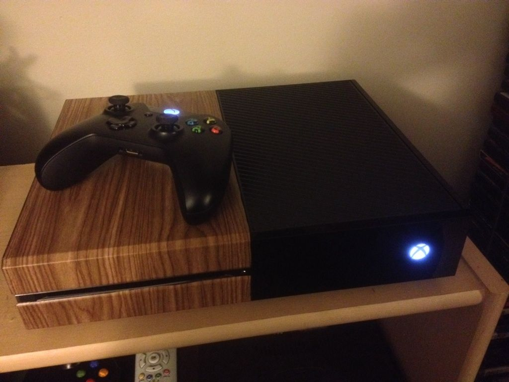 Xbox One VCR Skin via Reddit user Juke265 | Video Game Fun