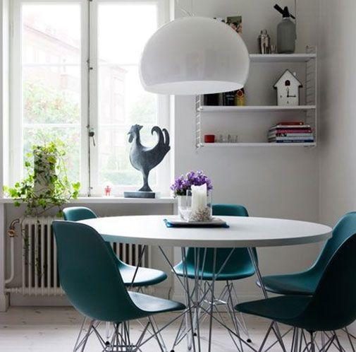 Piccoli spazi il tavolo rotondo   arredamenti   Wire chair, White ...