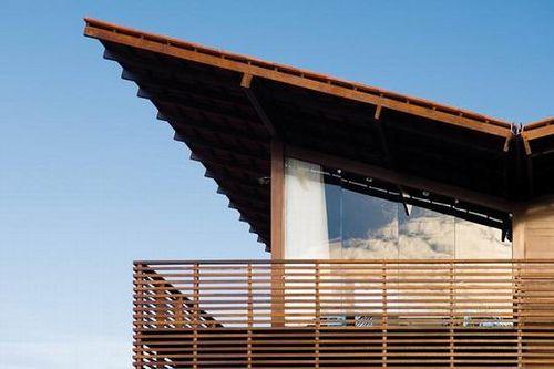 Casa Tropical Roof Architecture Configuration Tropical Houses Tropical House Design Balcony Design