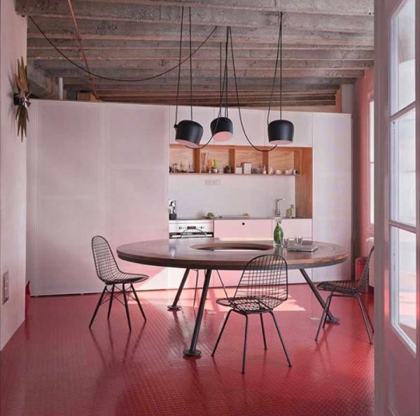 15 mani res d 39 clairer sa table de salle manger pinterest table ronde cuisine lino et. Black Bedroom Furniture Sets. Home Design Ideas