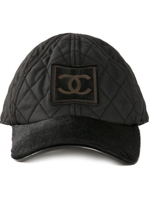 c01715a1 Shop Chanel Vintage pony fur cap in What Goes Around Comes Around from the  world's best independent boutiques at farfetch.com. Over 1500 brands from  300 ...