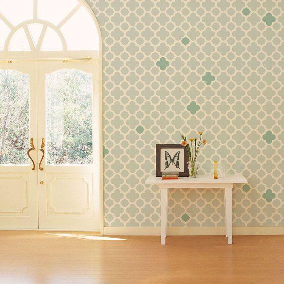 moderne wand schablone design schablone design ist 16 x. Black Bedroom Furniture Sets. Home Design Ideas