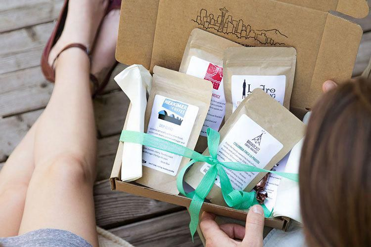 Coffee Sampler Gift Subscription Bean Box Coffee gifts