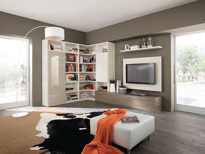 Parete attrezzata angolare ArredissimA | mobili e arredamento ...