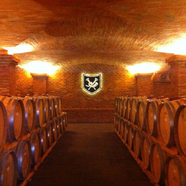 La Motte Cellar.