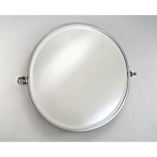 Found it at wayfair radiance gear tilt mirror sista house pinterest mirror round for Round tilting bathroom mirror