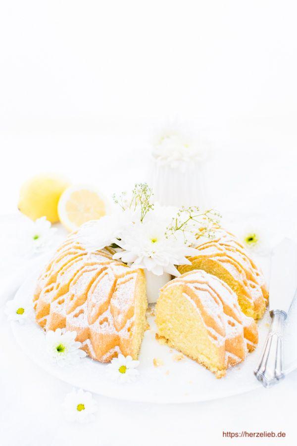 Grieskuchen Rezept - für Zitronenkuchen Liebhaber!