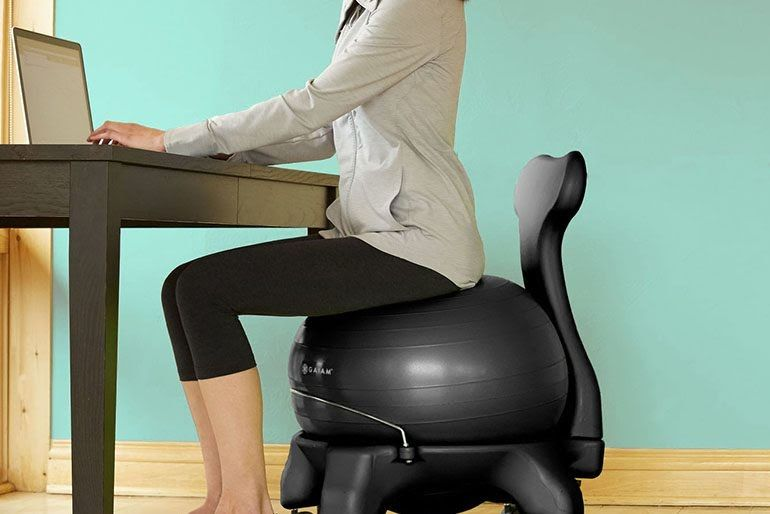 10 Best Office Ball Chairs In 2020 Stay Productive Longer Stool Extenders Fintechcluster Co Exercise Fitness Gaiam In 2020 Chair Legs Office Ball Chair Office Chair