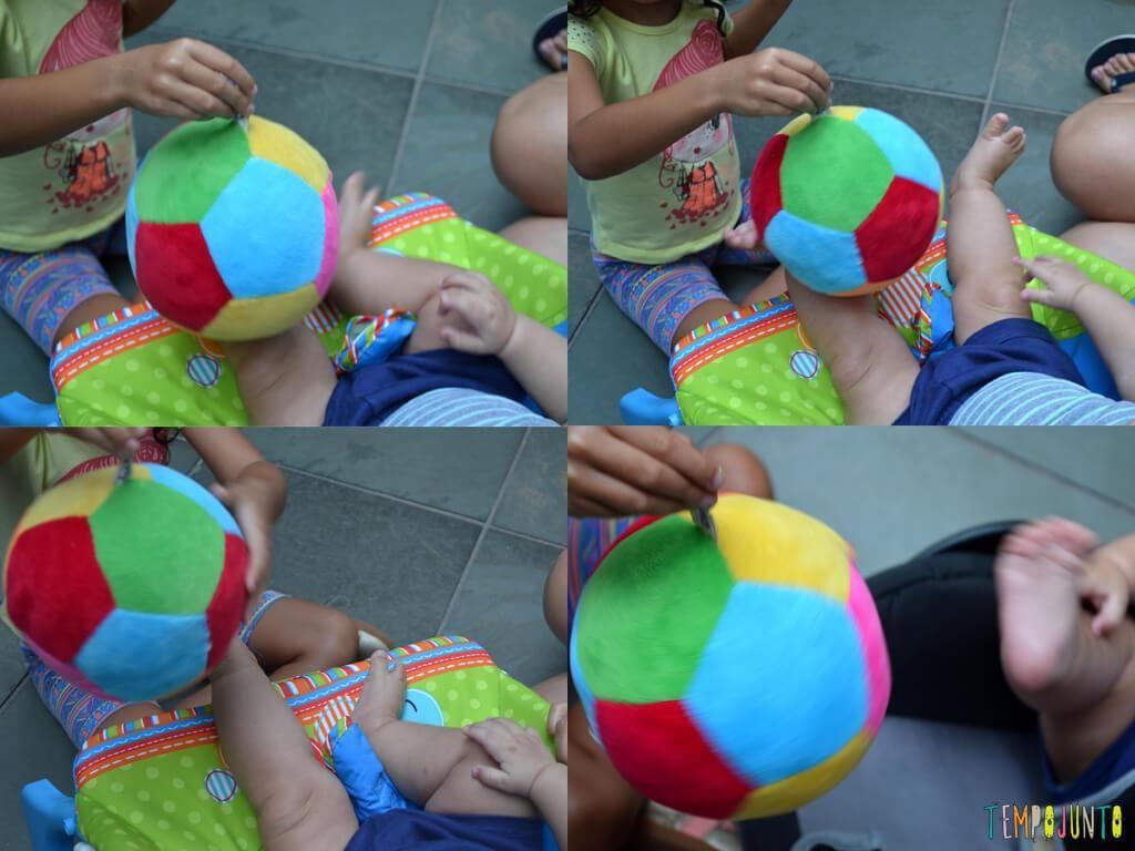 Bola E Um Otimo Brinquedo Para Brincadeiras Simples Bolinha