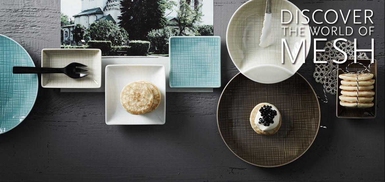rosenthal mesh colours eat drink pinterest porcelain. Black Bedroom Furniture Sets. Home Design Ideas