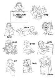 Classroom Commands Worksheets Primeros grados, Educacion