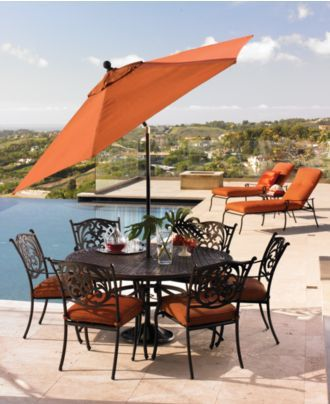 Chateau Outdoor Dining Collection Created For Macy S Home Ideas