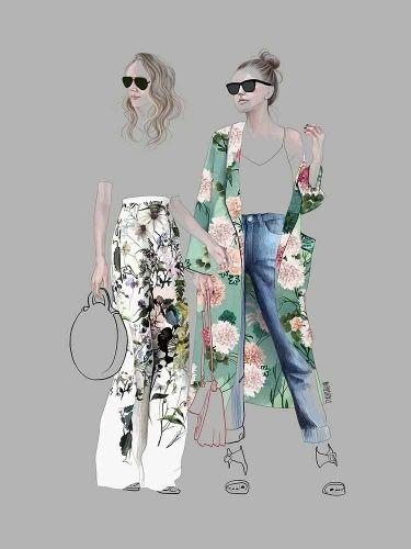 Agata Wierzbicka – Street Fashion 7 – Floral