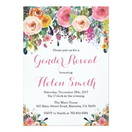 invitation party card