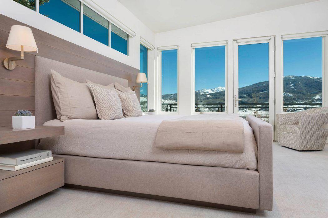 Une chambre aux couleurs ton sur ton. #décoration #inspiration ...