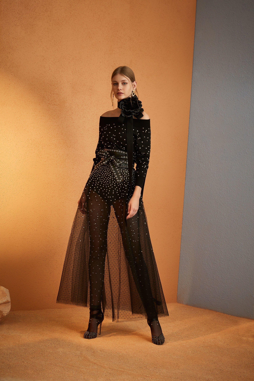 Elie Saab Pre-Fall 2018 Fashion Show | runway - pre-fall in