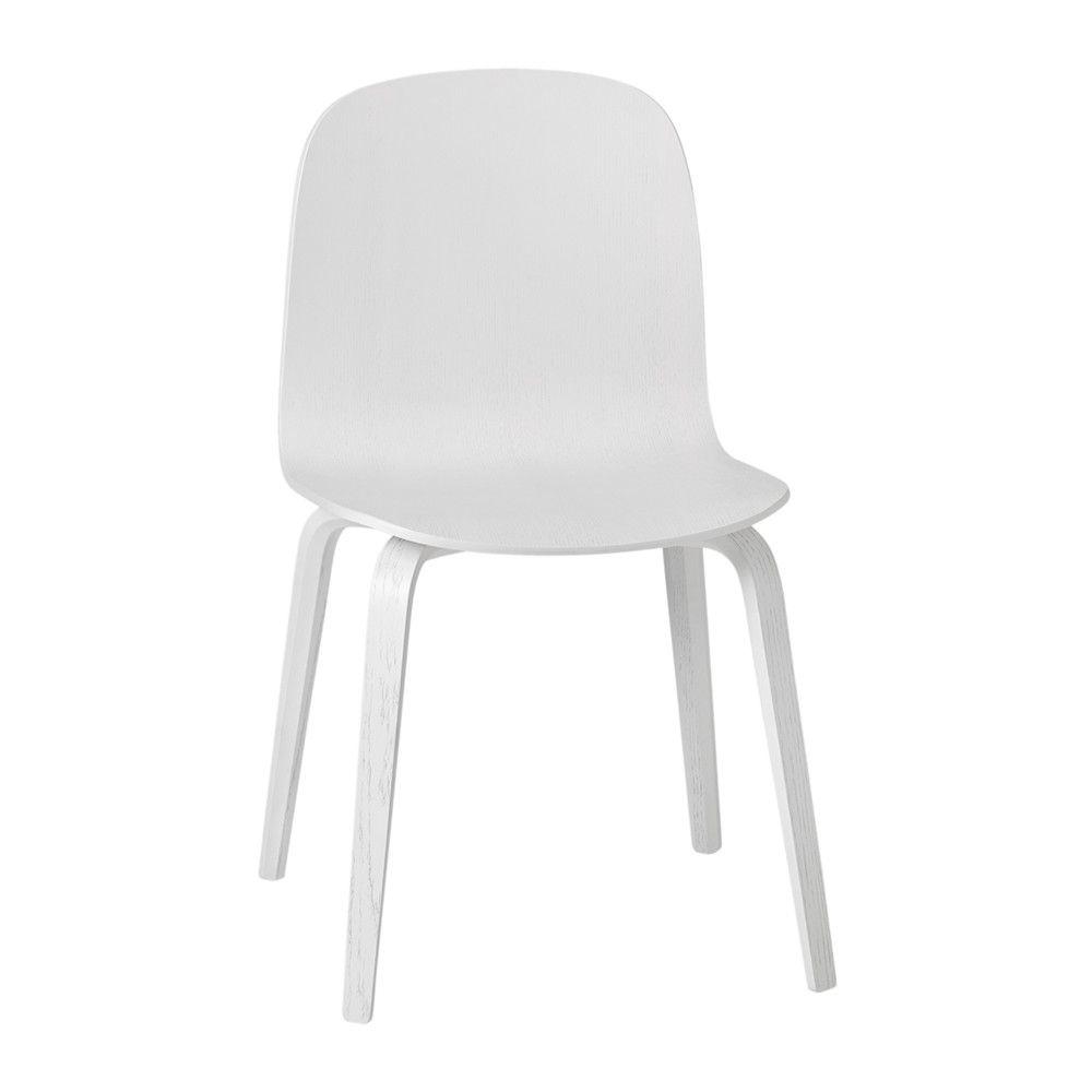Drehstuhl esszimmer holzfuss  Muuto - Visu Chair - Holzfuß - Weiß Jetzt bestellen unter: https ...