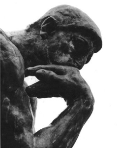 The Thinker What S The Big Idea Thinking Man Voice Lesson