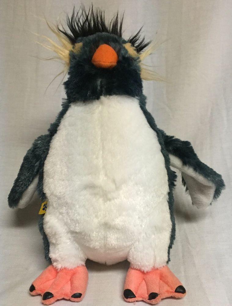 """Build A Bear 10"""" Lovelace Penguin Happy Feet 2 Plush Crazy Hair #BuildABear"""