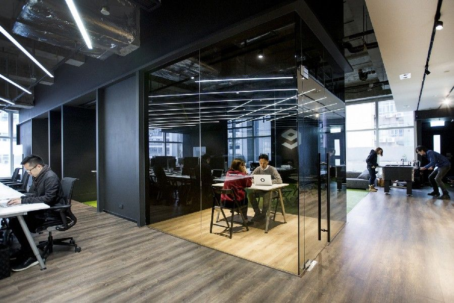 Classy Creative Office Hong Kong Warehouse Converted To Creative Office  Space   Home Decoration
