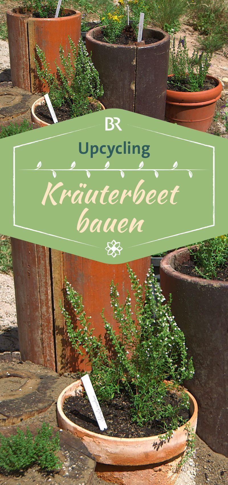 upcycling: kräuterbeet bauen | rund um garten und pflanzen