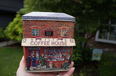 Silver Crane Tin Hamilton's Coffee House Made in England | eBay