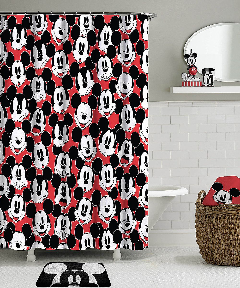 Look At This Mickey Mouse Big Face Shower Curtain On Zulily Today