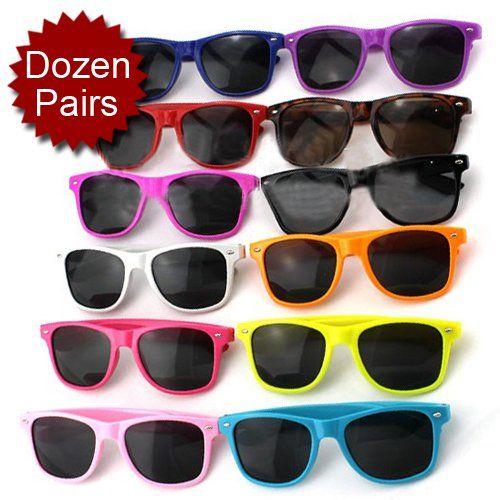 Neon 80's Style Party Sunglasses (2 Dozen) by MJ Boutique by MJ Boutique EO7JjzF